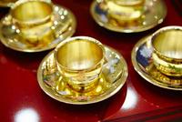 韓国の伝統結婚式の杯
