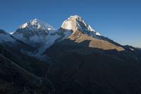 ペルー最高峰ワスカラン北峰と南峰