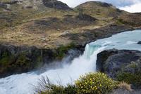 パタゴニア・パイネ国立公園の滝:サルト・グランデ