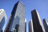 新宿副都心の超高層タワー