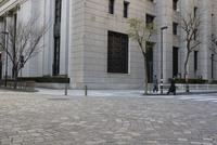 大手町の石畳 10884000104| 写真素材・ストックフォト・画像・イラスト素材|アマナイメージズ