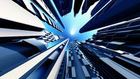 青空 ビル群を見上げる 10913000010| 写真素材・ストックフォト・画像・イラスト素材|アマナイメージズ