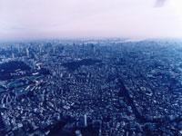渋谷区原宿上空
