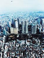 新宿区西新宿上空
