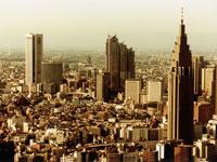 渋谷区代々木上空
