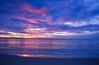 早朝のラマイビーチ