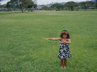 ダンスをする子供