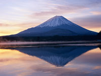 富士山/精進湖 11000007556| 写真素材・ストックフォト・画像・イラスト素材|アマナイメージズ