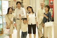 デパートと家族