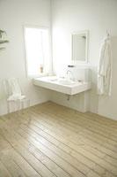 洗面所 11000015154  写真素材・ストックフォト・画像・イラスト素材 アマナイメージズ