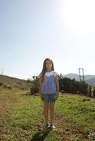野原の少女