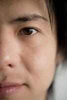 男性の左目 11000043922| 写真素材・ストックフォト・画像・イラスト素材|アマナイメージズ