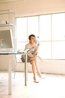 女性メインのオフィスの風景