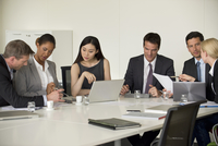 Executives in meeting