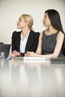 Businesswomen at meeting