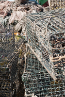 Fishing traps, close-up
