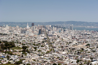 Aerial view of San Francisco, California, USA