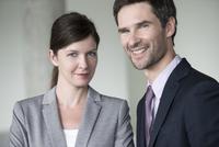 Business associates, portrait
