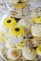 Festive cupcakes 11001063161| 写真素材・ストックフォト・画像・イラスト素材|アマナイメージズ