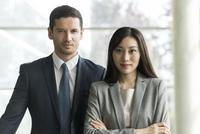 Business professionals, portrait