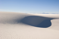 White sand dune, White Sands National Monument, New Mexico, USA