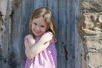 Little girl smiling, portrait
