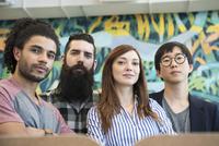 Group of hip professionals, portrait