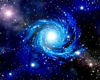 CG,宇宙,星雲,光の渦巻き