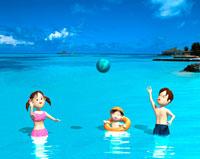 CG 海水浴