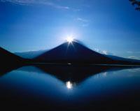 富士山と田貫湖 8月