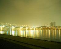 ソウル 漢江 夜景 11002015069| 写真素材・ストックフォト・画像・イラスト素材|アマナイメージズ