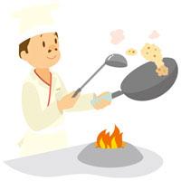 中華料理人 イラスト