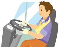 トラック運転手 イラスト 11002026573| 写真素材・ストックフォト・画像・イラスト素材|アマナイメージズ
