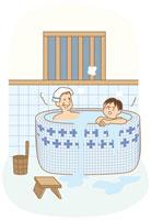 お風呂 イラスト