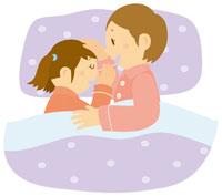 娘を寝かせる母 イラスト 11002026774| 写真素材・ストックフォト・画像・イラスト素材|アマナイメージズ