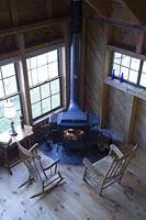 暖炉のある室内 11002028119| 写真素材・ストックフォト・画像・イラスト素材|アマナイメージズ