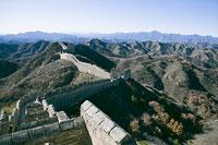 万里の長城の金山嶺長城