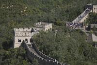 万里の長城の八達嶺長城 11002029687| 写真素材・ストックフォト・画像・イラスト素材|アマナイメージズ
