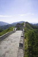万里の長城の八達嶺長城 11002029689| 写真素材・ストックフォト・画像・イラスト素材|アマナイメージズ