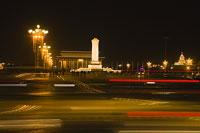 夜の天安門広場 11002029715| 写真素材・ストックフォト・画像・イラスト素材|アマナイメージズ