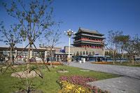 天安門広場の正陽門 11002029719| 写真素材・ストックフォト・画像・イラスト素材|アマナイメージズ