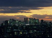 新宿方面の夜景