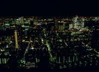 東京の南東方面 の夜景