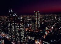 東京の南西方面の夜景 11002048744| 写真素材・ストックフォト・画像・イラスト素材|アマナイメージズ