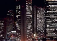 新宿の夜景 11002048747| 写真素材・ストックフォト・画像・イラスト素材|アマナイメージズ