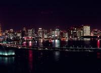 東京の北方面の夜景
