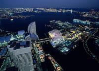 横浜の夜景 11002048788| 写真素材・ストックフォト・画像・イラスト素材|アマナイメージズ