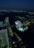 横浜の夜景 11002048789| 写真素材・ストックフォト・画像・イラスト素材|アマナイメージズ