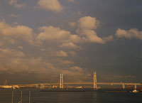 横浜ベイブリッジ 11002048790| 写真素材・ストックフォト・画像・イラスト素材|アマナイメージズ