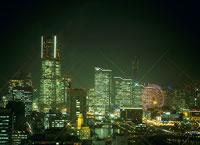 横浜の夜景 11002048800| 写真素材・ストックフォト・画像・イラスト素材|アマナイメージズ